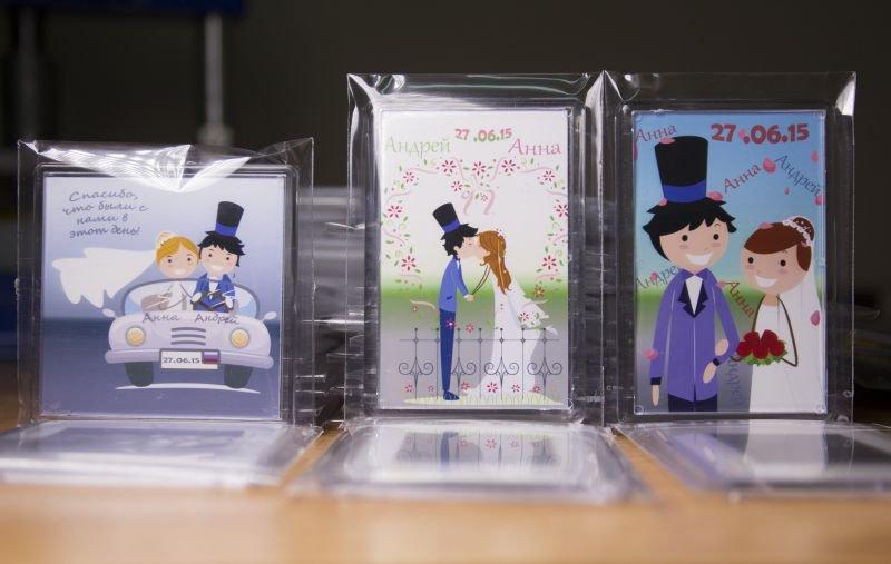 Оригинальные подарки на свадьбе для гостей