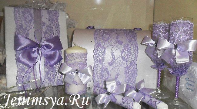 2378f64440a7 Набор свадебных аксессуаров ручной работы